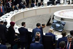 G20 - Début officiel du sommet du G20 à Osaka