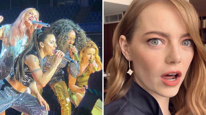 Spice Girls: Emma Stone chute et se casse l'épaule pendant un concert
