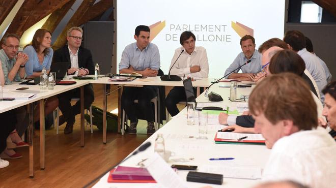 Formation d'un gouvernement wallon: le premier bilan de la rencontre entre le duo PS-Ecolo et la société civile