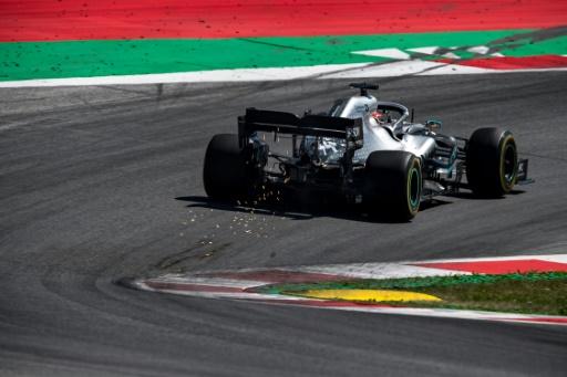 GP de F1 d'Autriche: Hamilton pénalisé de 3 places sur la grille