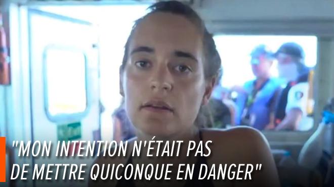 La jeune capitaine du Sea-Watch arrêtée après avoir accosté de force: elle explique son acte