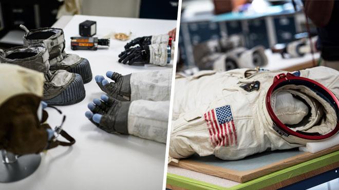 La combinaison de Neil Armstrong va DISPARAÎTRE: sa décomposition a commencé (photos)