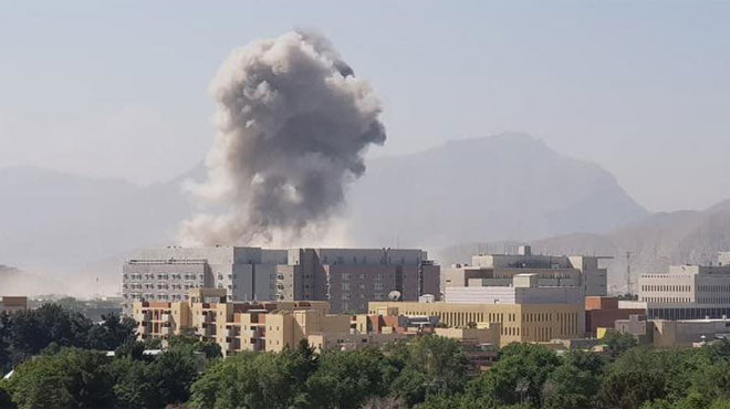 Attaque au centre de Kaboul, plusieurs