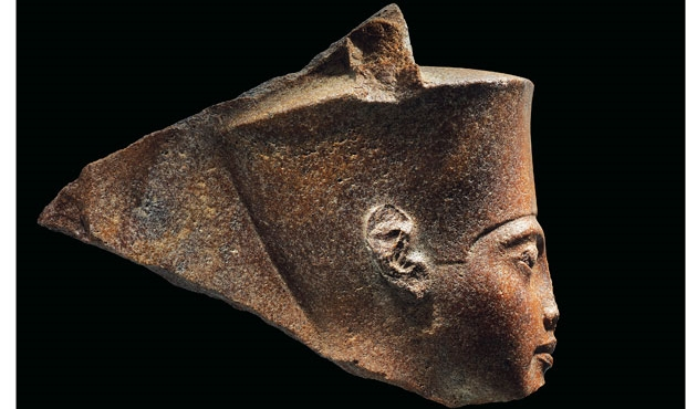 Une statue de Toutânkhamon présentée aux enchères, malgré l'interdiction du Caire — Christie's