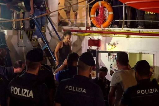La capitaine du Sea-Watch a rendez-vous devant un juge italien