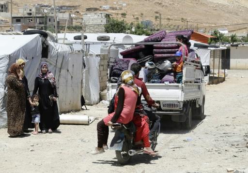 L'armée libanaise commence à détruire des abris de réfugiés syriens