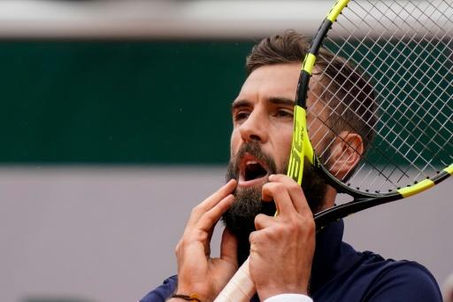 Paire rejoint Chardy au deuxième tour — Wimbledon