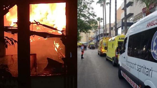 Plusieurs touristes intoxiqués dans l'incendie d'un hôtel de Majorque: 600 évacués (vidéo)