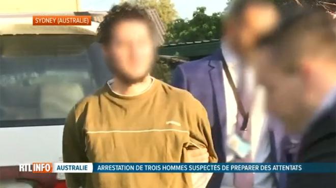 Trois suspects partageant