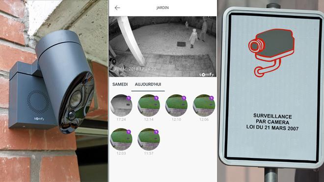 Vous avez une caméra de surveillance extérieure? La police va bientôt contrôler si vous êtes en règle...