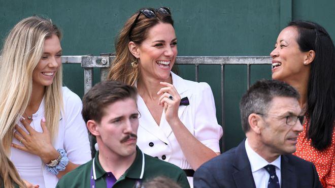 Kate Middleton- aperçue à Wimbledon là où on ne l'attendait pas