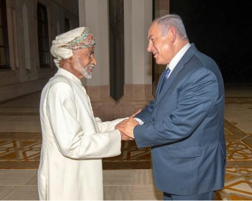 Oman nie avoir convenu d'établir des relations diplomatiques avec Israël