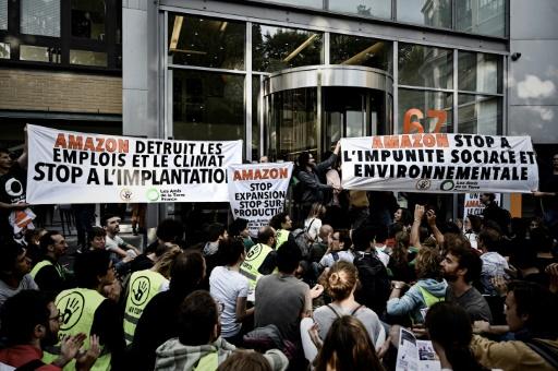 Amazon: nouveau blocage du site de Toulouse par des militants écologistes