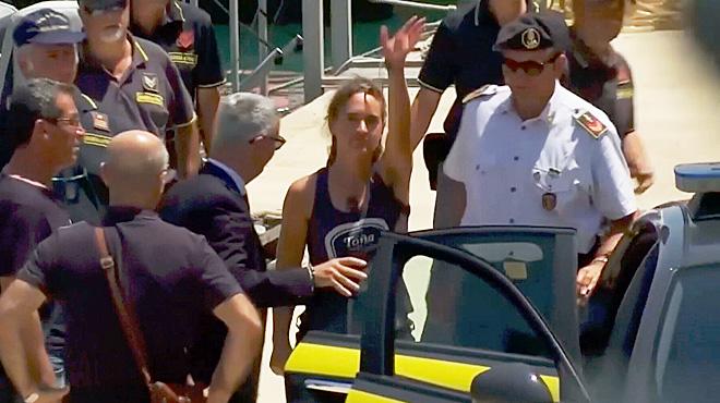 Malgré sa libération, la capitaine du Sea-Watch Carola Rackete est obligée de se cacher