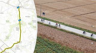 3ème étape du Tour de France lundi- découvrez TOUTES LES RUES BLOQUÉES au départ de Binche