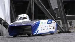 Des étudiants louvanistes présentent la voiture solaire belge la plus aérodynamique