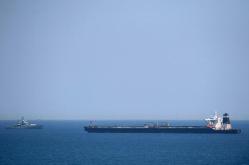 Un supertanker soupçonné de livrer du pétrole en Syrie arraisonné par Gibraltar