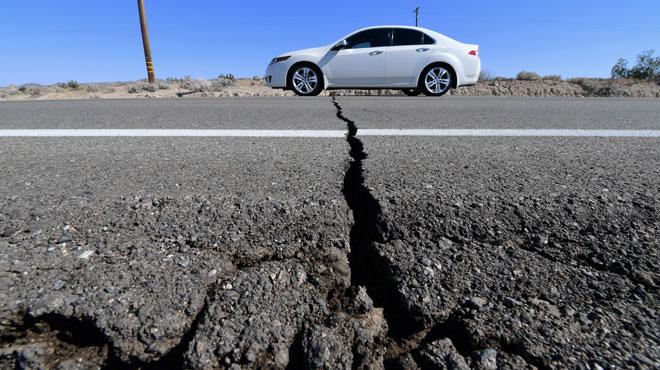 Un séisme ébranle la Californie sans faire de dégâts majeurs: