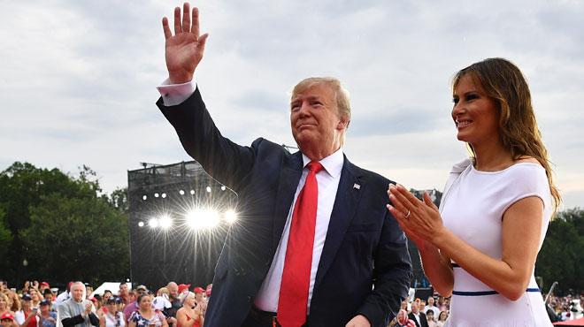 Trump célèbre l'histoire des Américains pour qui