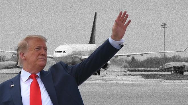Des aéroports en 1775? Quand Trump revisite (encore) l'Histoire de la Nation