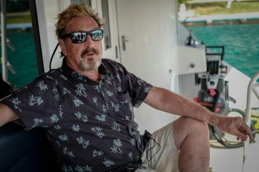 McAfee, sulfureux millionnaire candidat à la Maison blanche... depuis Cuba
