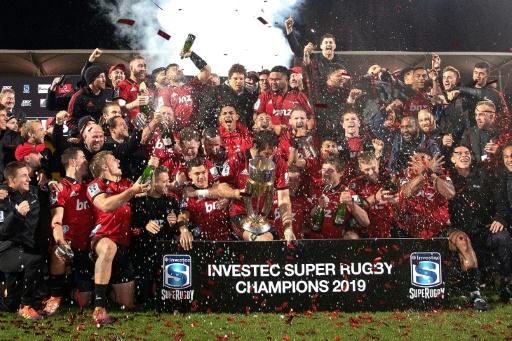 Super Rugby: les Crusaders comptent jusqu'à dix