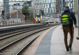 Circulation des trains interrompue une heure entre Bruges et la Côte