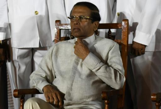 Le président sri-lankais opposera son veto à un accord militaire avec les Etats-Unis