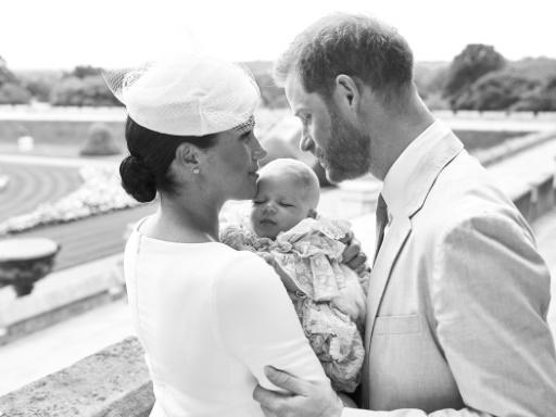 Archie, le fils de Harry et Meghan, a été baptisé dans l'intimité