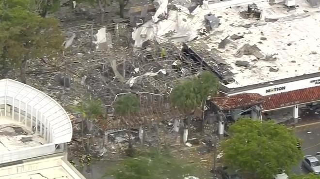 Spectaculaire explosion dans un centre commercial aux Etats-Unis: une vingtaine de blessés