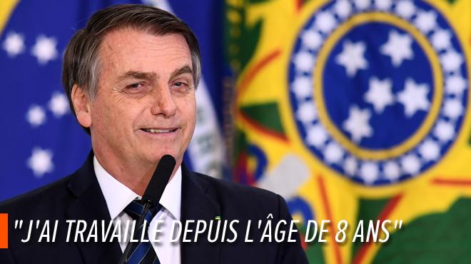 Polémique au Brésil: le président Bolsonaro défend le travail des enfants