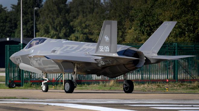 Les bases aériennes vont être rénovées en vue de l'arrivée des F-35