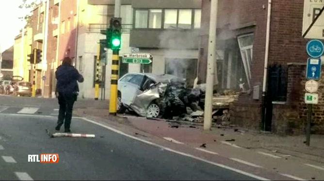 5 personnes tuées dans un accident Kortessem: des cartouches de gaz hilarant retrouvées dans la voiture