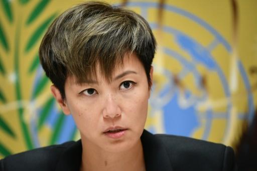 A l'ONU, un représentant chinois interrompt le discours d'une chanteuse hongkongaise