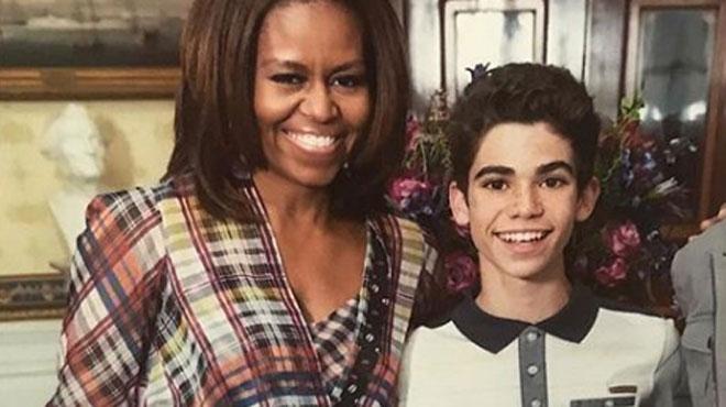 Décès de Cameron Boyce, star de Disney âgé de 20 ans: Michelle Obama publie un message poignant