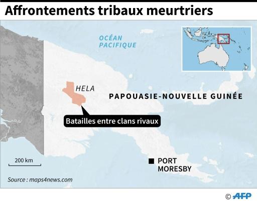 Au moins 24 morts dans des affrontements tribaux en Papouasie-Nouvelle Guinée