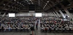 Etudes de médecine: l'examen d'entrée a rassemblé 3.517 candidats