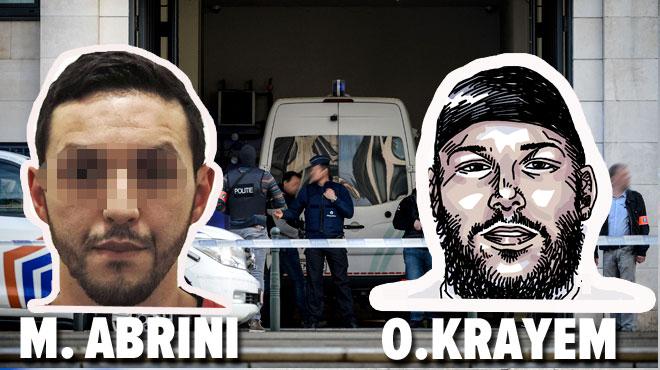 Attentats à Bruxelles: détention prolongée pour Mohamed Abrini et Ossama Krayem