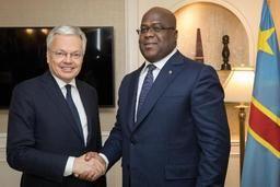 Félix Tshisekedi rencontrera Didier Reynders à Bruxelles