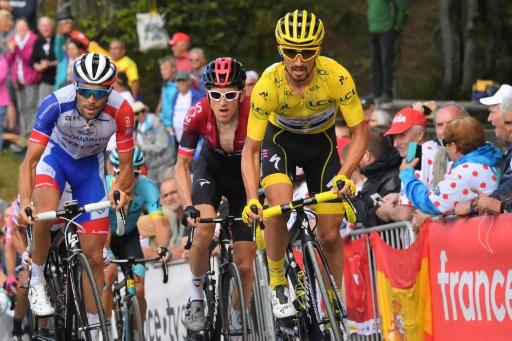 Tour de France: Alaphilippe, à 6 secondes du jaune, n'est
