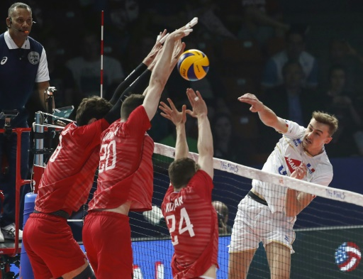 Ligue des nations de volley: c'est fini pour les Français