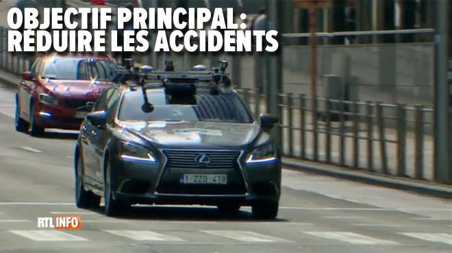 L'avez-vous vue? Une voiture autonome est actuellement TESTÉE dans les rues de Bruxelles