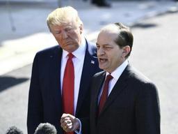 Le ministre du Travail de Trump annonce sa démission
