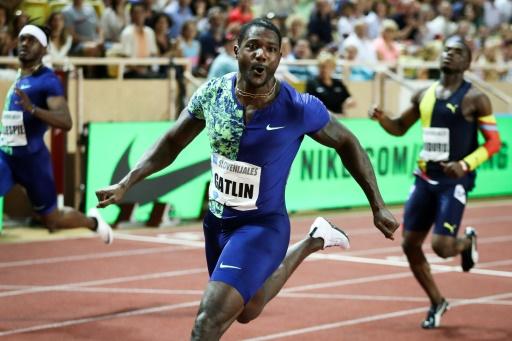 Athlétisme: Gatlin dompte Lyles sur 100 m à Monaco