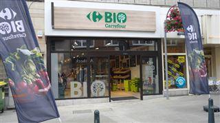 Carrefour a ouvert son premier magasin de produits exclusivement bio à Woluwe-Saint-Lambert