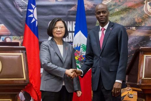 Haïti: une visite de la présidente taïwanaise peu fructueuse