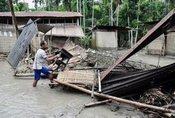 Au moins 35 morts et 35 millions de personnes touchées par les inondations en Inde