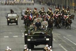 Défilé du 14 juillet à Paris: des