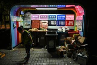 Shanghai inaugure la bataille du tri des déchets en Chine
