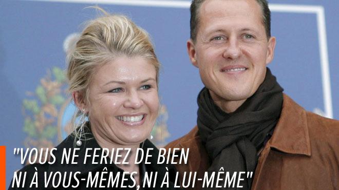 Pourquoi sa femme Corinna filtre les visites de ses amis — Michael Schumacher